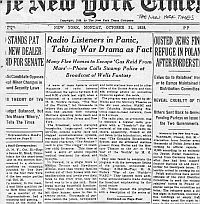 Naslovna strana Njujork Tajmsa